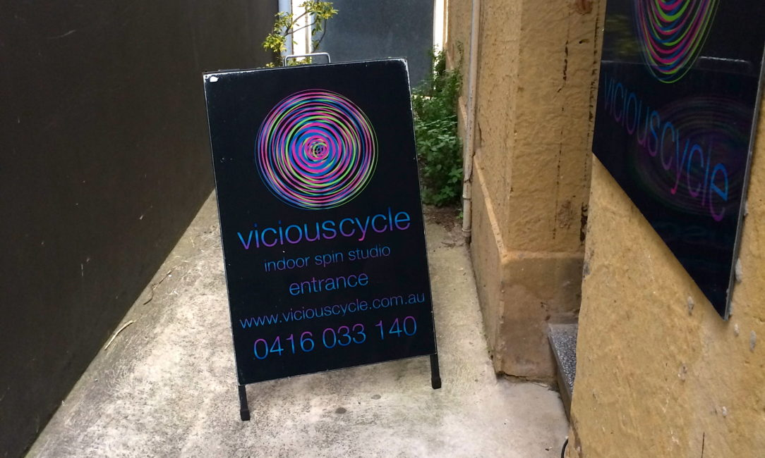 Cycle Studio Hits Bondi
